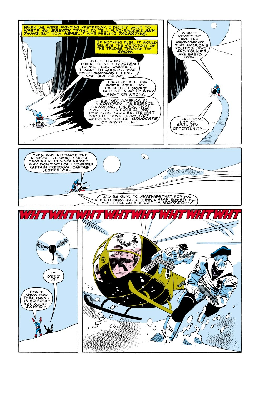 Captain America (1968) Issue #322 #250 - English 18