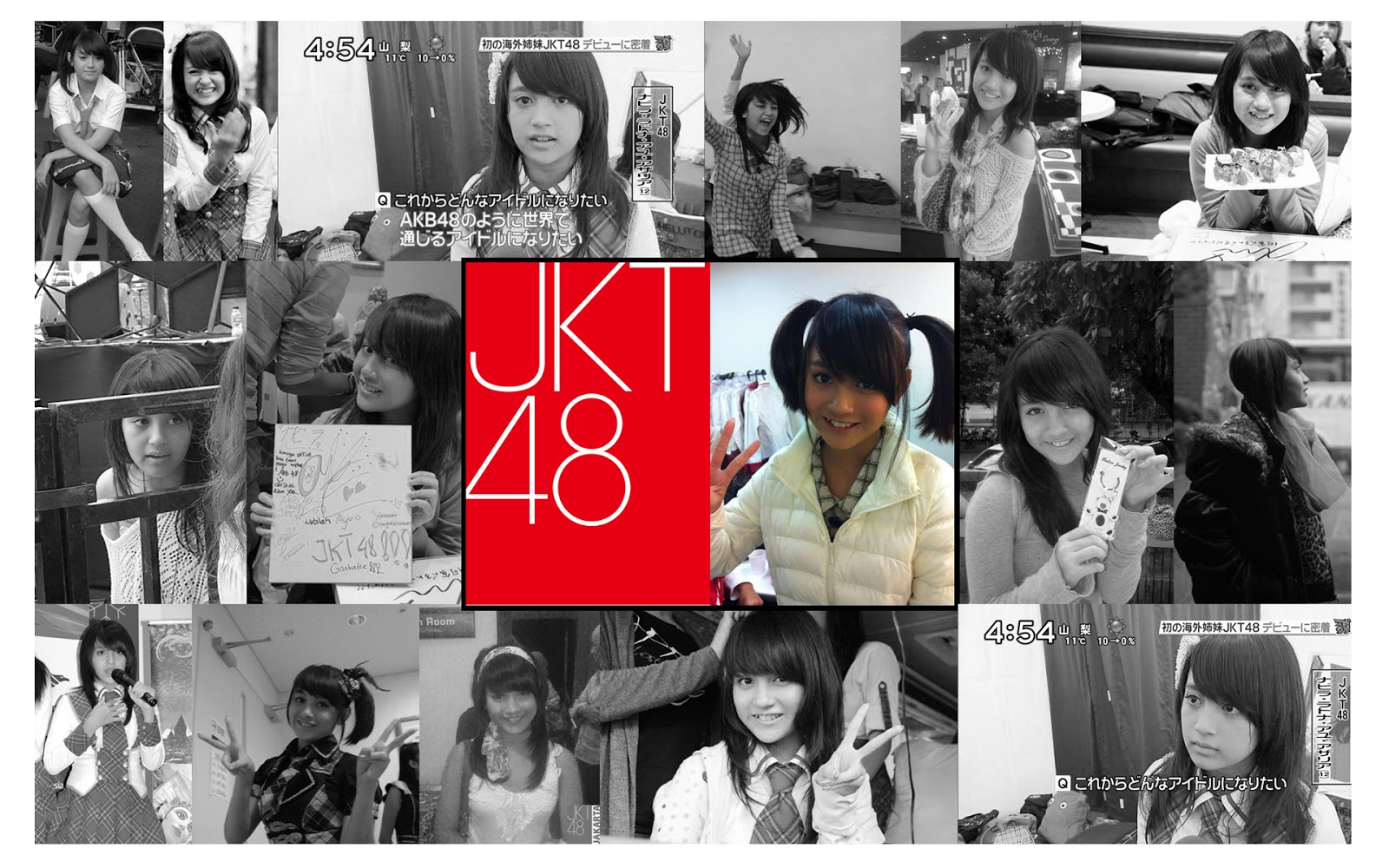 Wallpaper HD nabilah JKT48  Nabilah Jkt48 Wallpaper