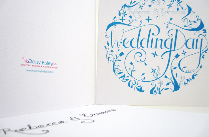 Wedding Cards by DaisyBisley
