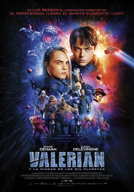 Valerian and the City of a Thousand Planets (Valerian y La Ciudad de los Mil Planetas) (2017) 720p y 1080p WEBRip mkv Dual Audio AC3 5.1 ch