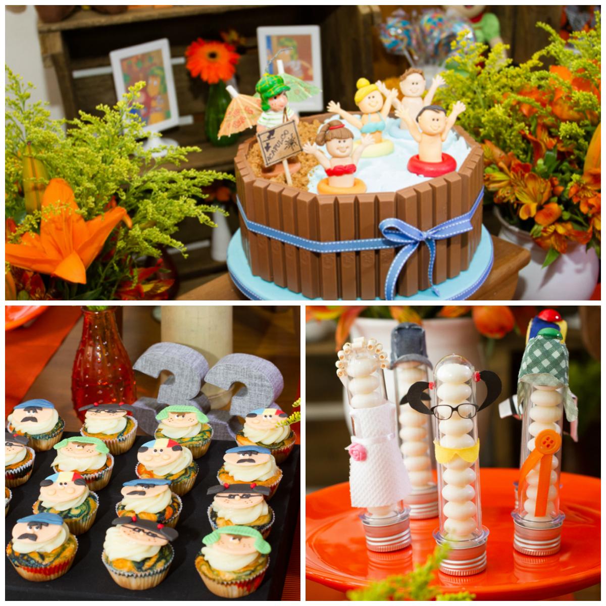 Festa Tema Chaves  Inspire a sua festa  Minha mãe festeira