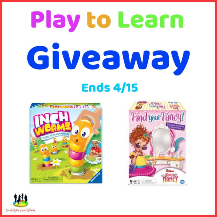 Play To Learn Giveaway