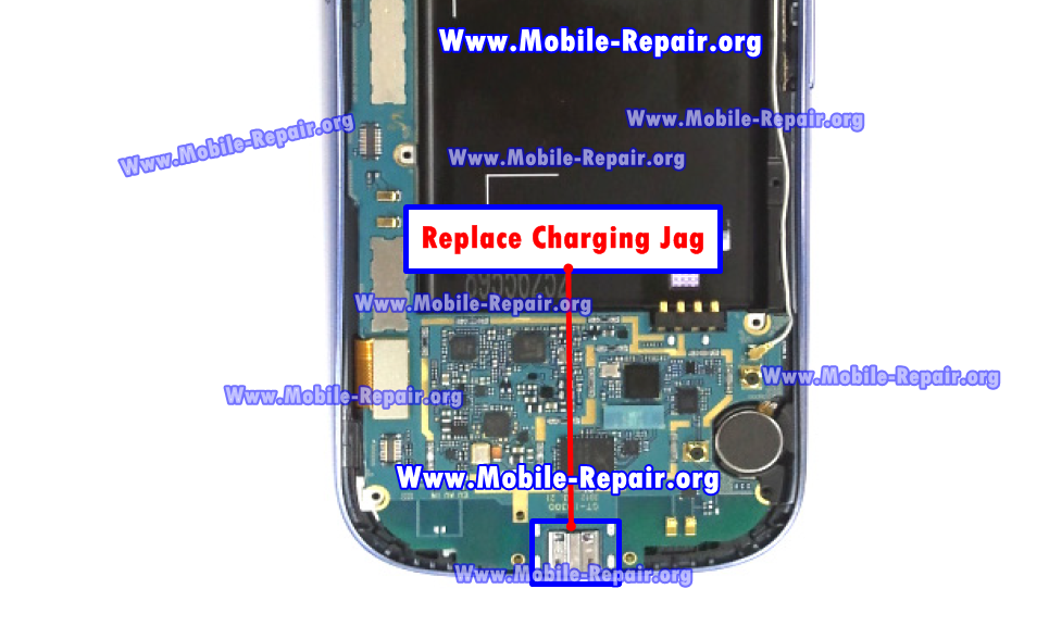 Samsung Galaxy S3 Charging Jag Problem Repair solution