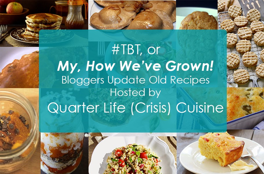 #tbt before and after recipes from some of my fave bloggers!