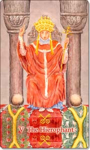 The Hierophant, www.aquatictarot.de