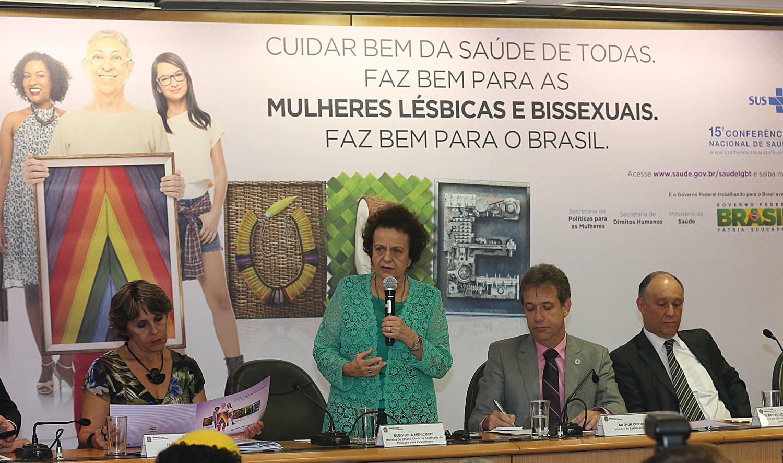 Governo Federal lança campanha sobre saúde de mulheres lésbicas e bissexuais