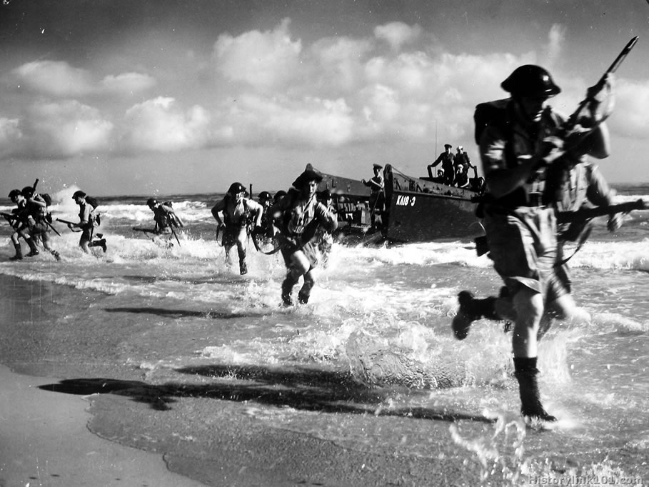 70th anniversary of the Normandy Landings - Histomil.com