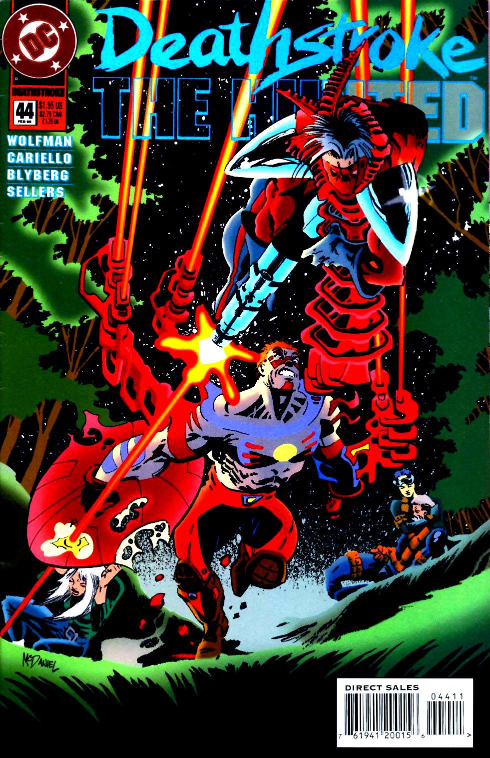 Deathstroke (1991) Issue #44 #49 - English 1