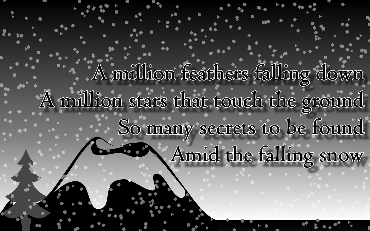Romantic Best snowfall quote of 2015