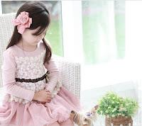 dress anak import korea
