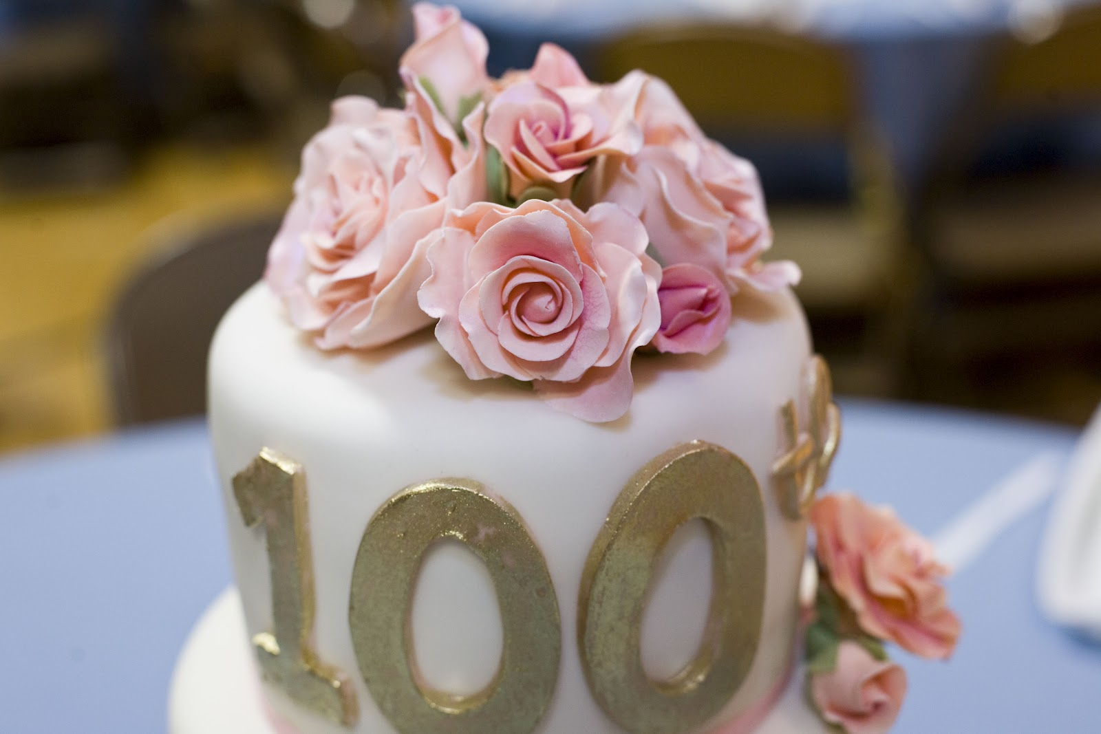 Cakes By Emily Ruth 100th Birthday