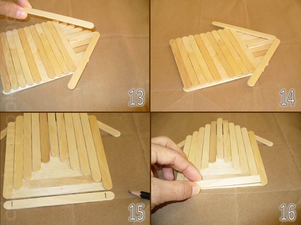 Con tus propias manos como hacer una casita alcancia con for Como construir una casita de madera
