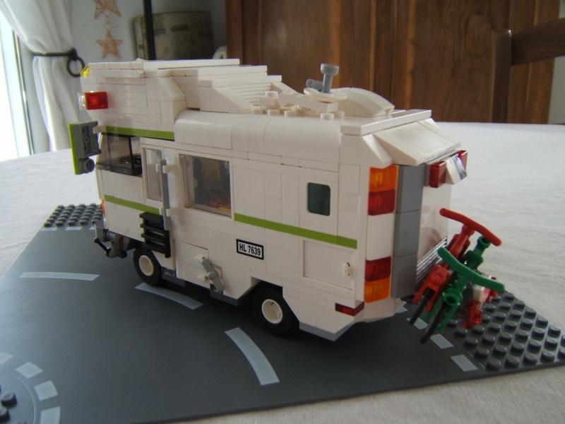 le camping car passe partout lego exemples de mod le de camping car. Black Bedroom Furniture Sets. Home Design Ideas