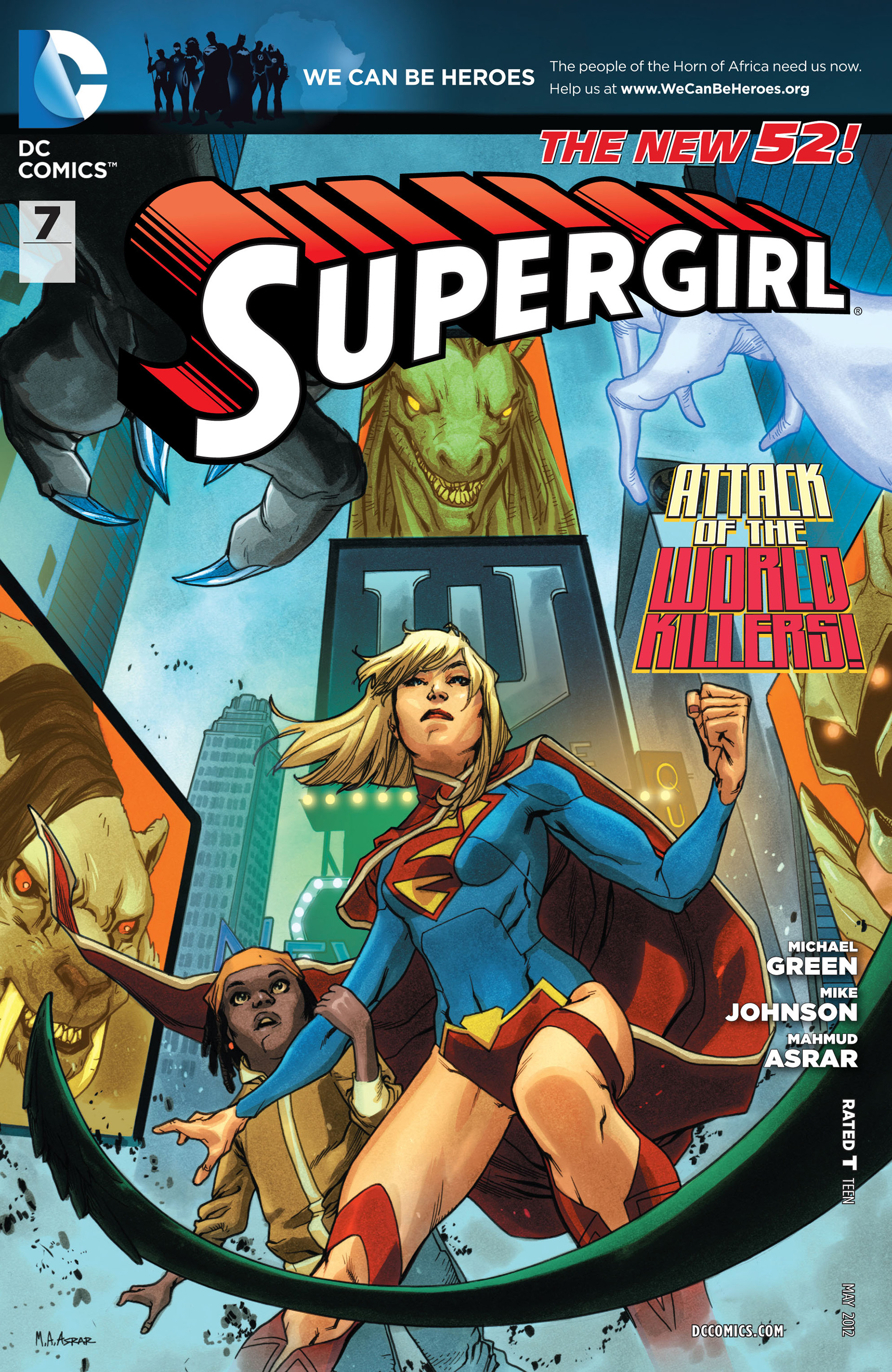 Supergirl (2011) Issue #7 #9 - English 1