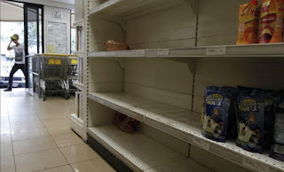 Venezuela President: Food Shortages Due to 'Economic Warfare'