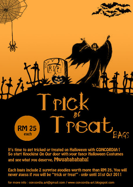 Concordia Halloween Treat Bag
