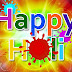 Latest Happy Holi Greeting Card 2013 | Happy Holi Beautiful Wallpaper
