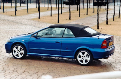 The Holden Astra Convertible