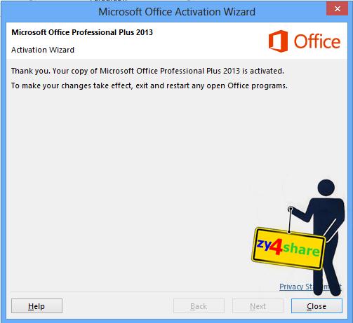 Cara Aktivasi Permanent Microsoft Office 2013 !!! | 4Kau