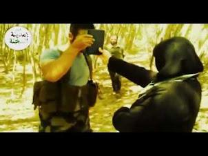 مقطع رهيب .أسود السنة في سورية يدعسون رؤوس الفرس