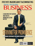 MALAYSIAN BUSINESS JULY 1st ISSUE OF 2014 NOW ON SALE