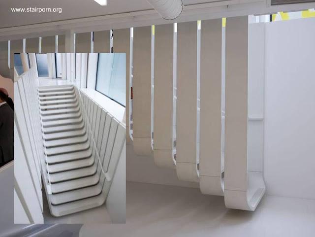 Arquitectura de casas 25 modelos de escaleras de interiores - Diseno de una escalera ...