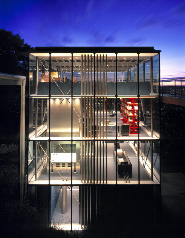 Home Designs Luxury: Design Exterior glass house by Werner Sobek