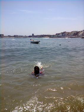 Yo nadando!!!!!!