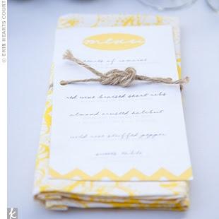 semplicemente perfetto idee menu oh so beautiful paper