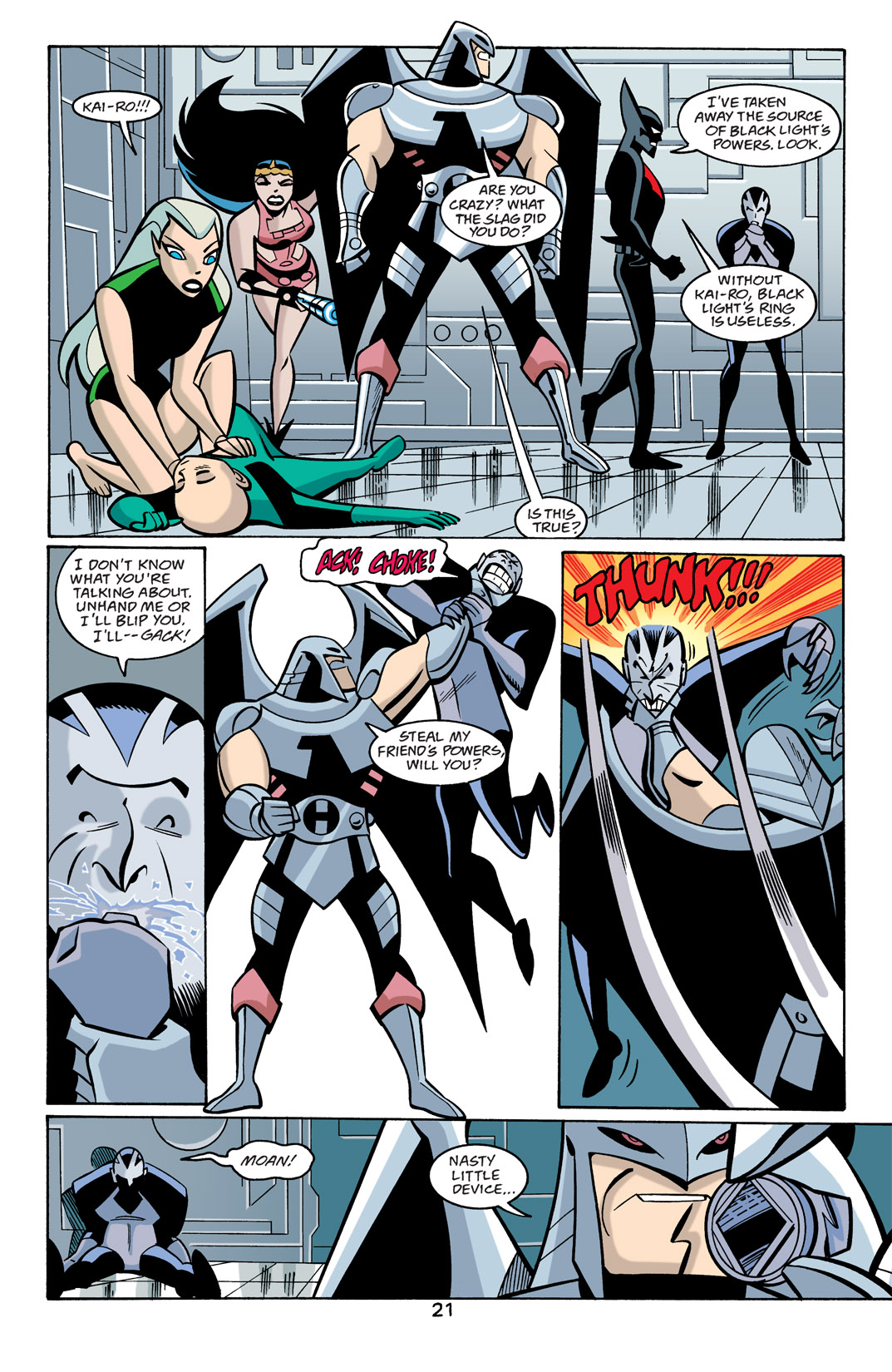 Batman Beyond [II] Issue #22 #22 - English 22