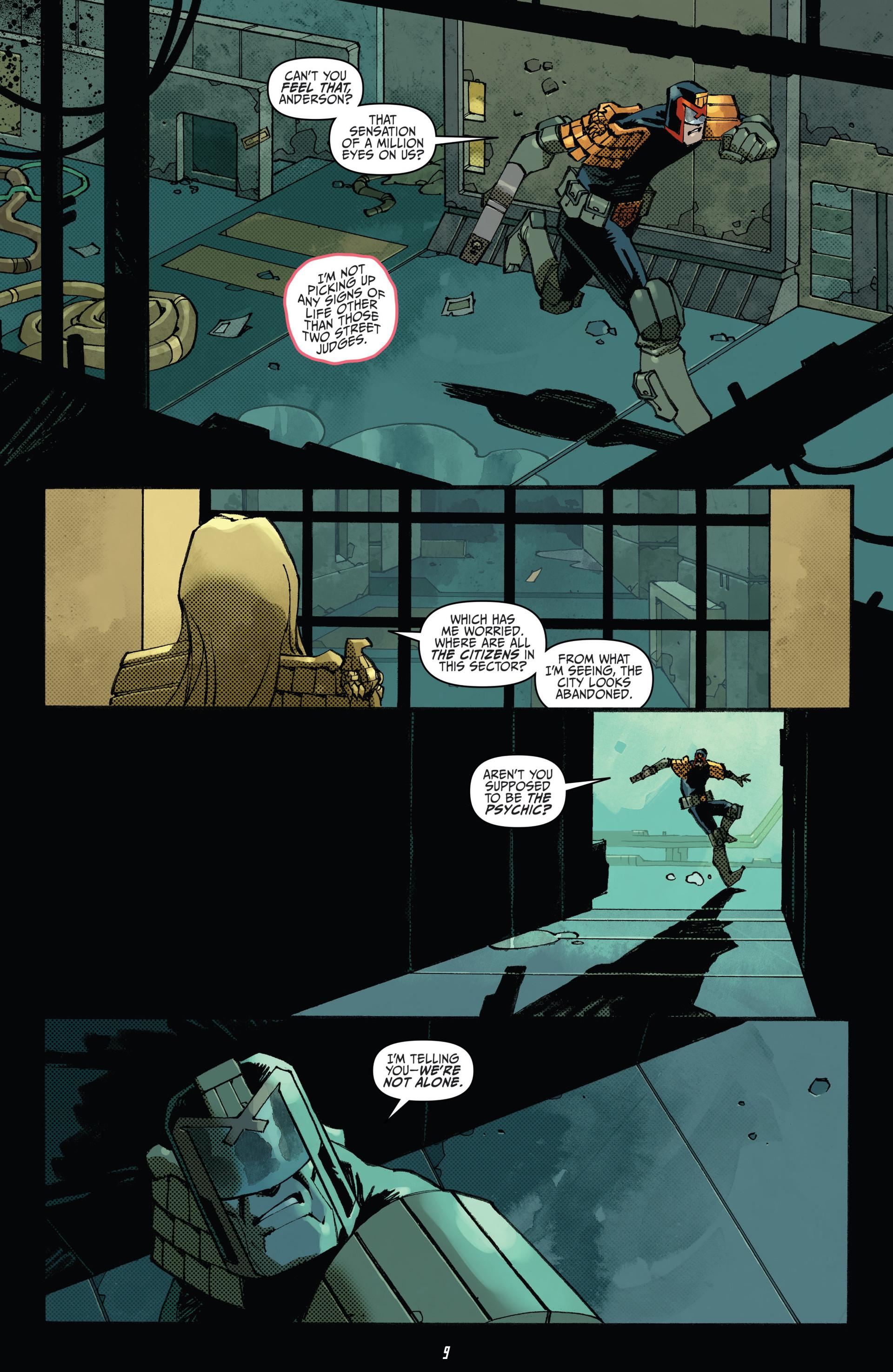 Read online Judge Dredd (2012) comic -  Issue #23 - 11