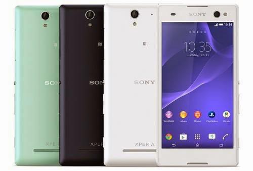 Harga Hp 4G LTE Sony Xperia C3