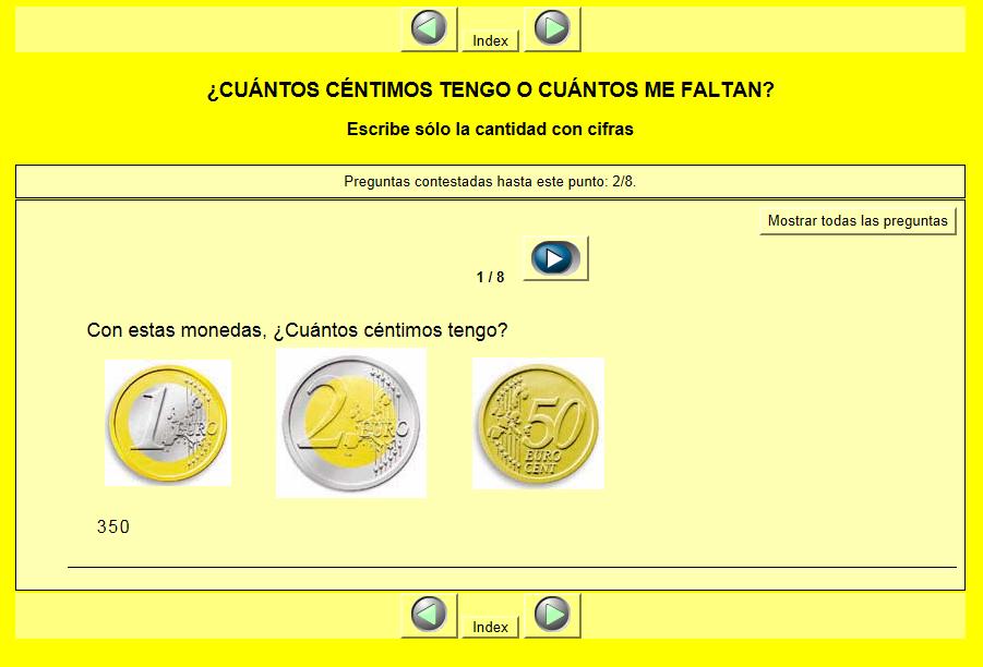 http://calasanz.edu.gva.es/7_ejercicios/matematicas/mate3pri/10_dinero01.html