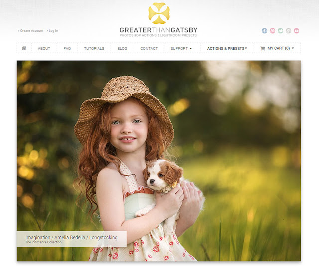 Greater Than Gatsby - 10 Sites to Get  Useful Photoshop Actions