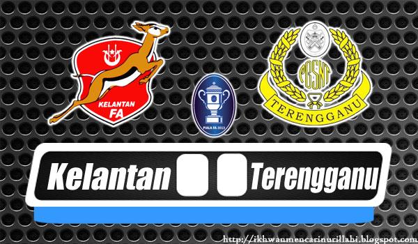 Keputusan Kelantan vs Terengganu 25 Mei 2013 - Separuh Akhir Pertama Piala FA 2013