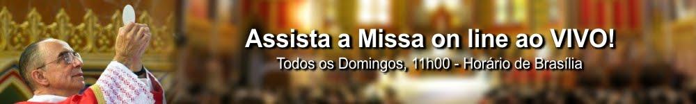 Assista a Santa Missa pela TV Arautos