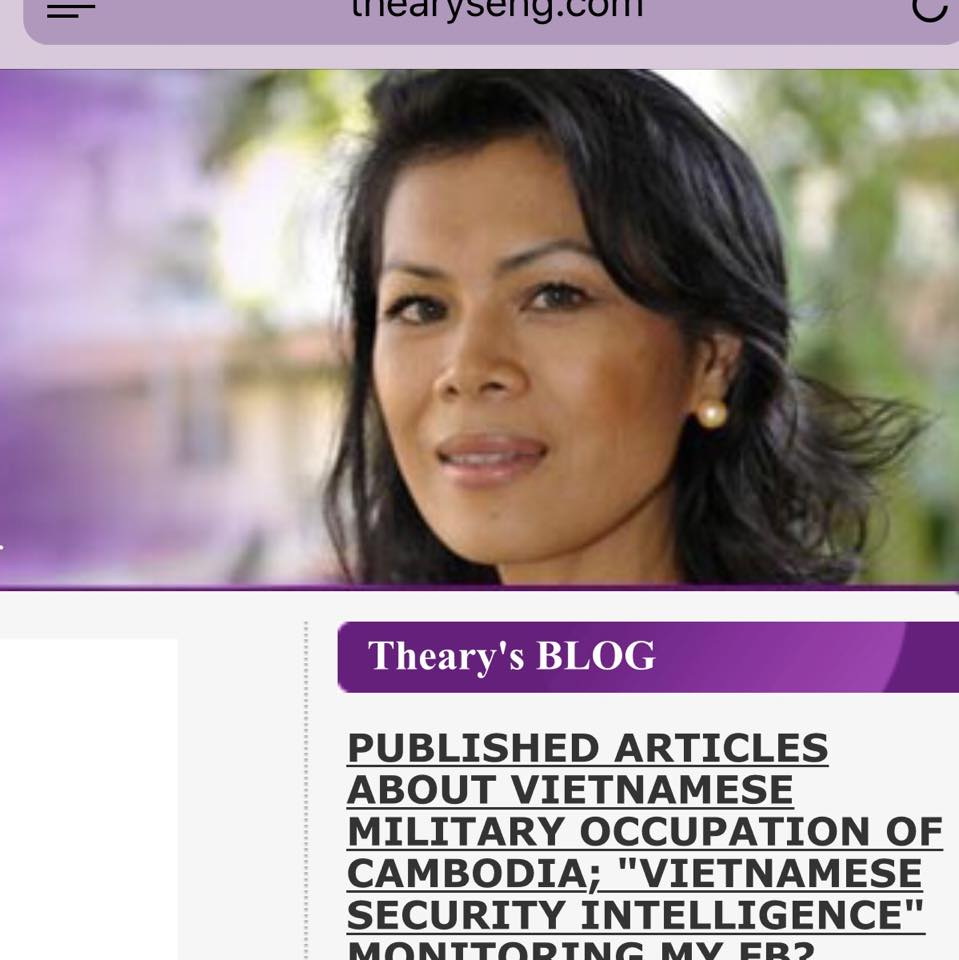 Published articles about Vietnamese Military Occupation