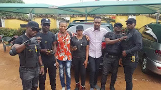New Photos Of Members Of Biafra Security Services Emerge