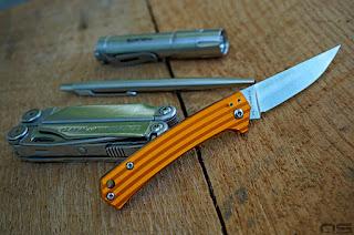 orange aluminum annodized handles