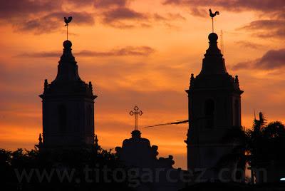 Torres da Igreja Matriz Nossa Senhora da Vitória, em São Cristóvão (SE)