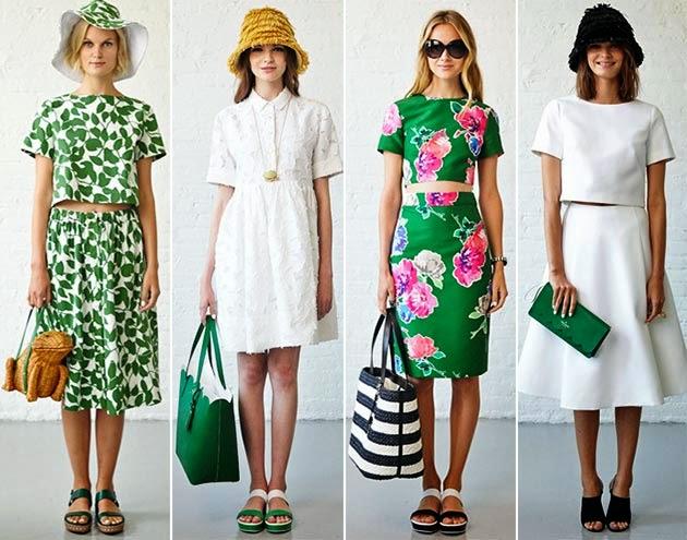 Foto Trend Warna Baju Busana 2015
