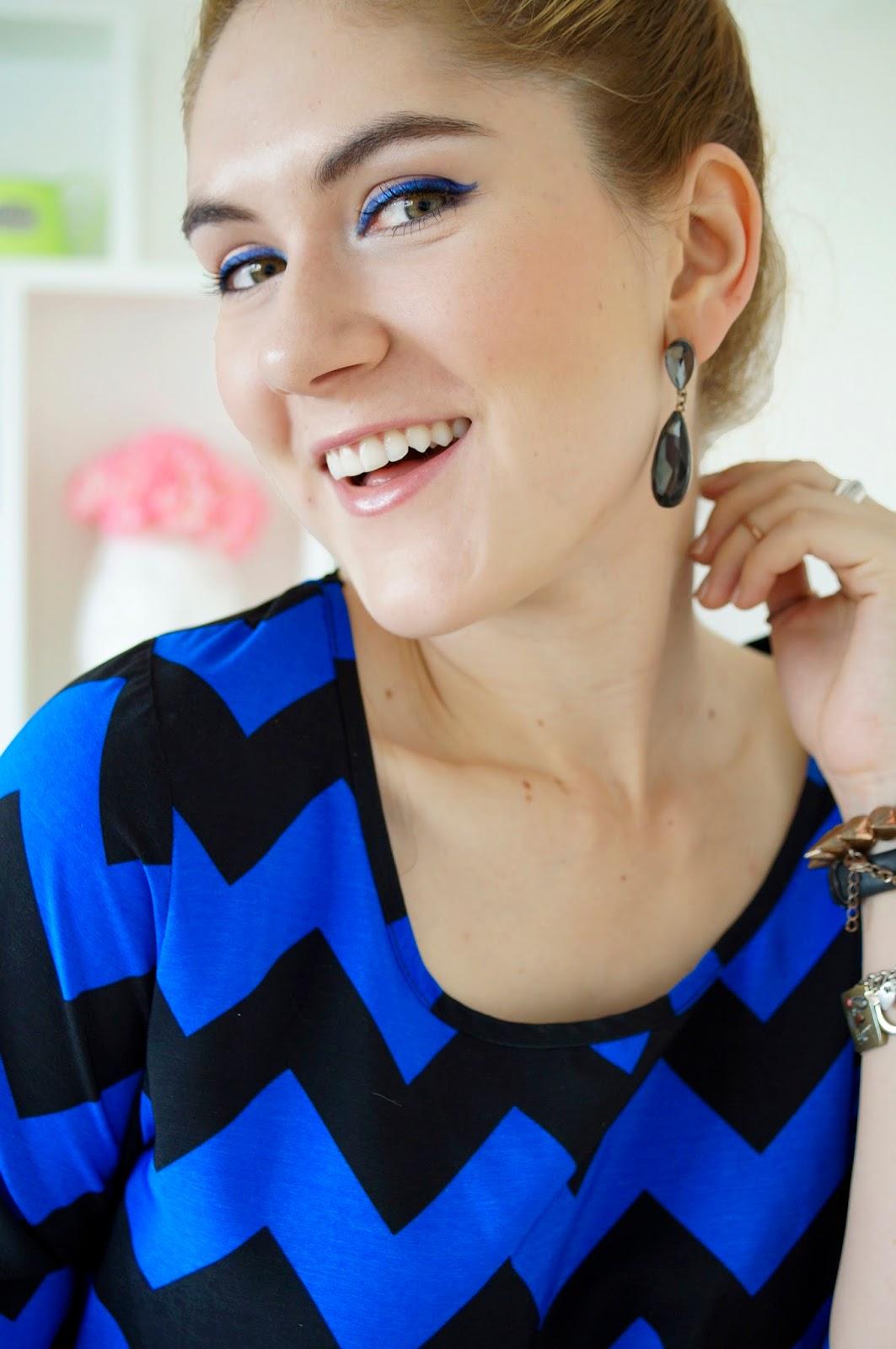 Blue Eyeliner Makeup