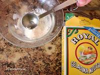 gelatina polvo hidratada