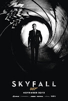 skyfall james bond 007 teaser poster