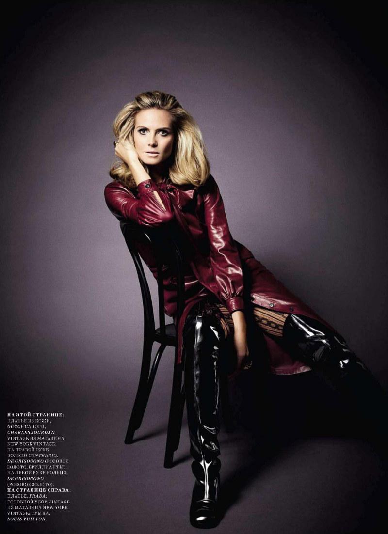 Fashionable Hairs Heidi Klum Photoshoot by Robert Erdmann