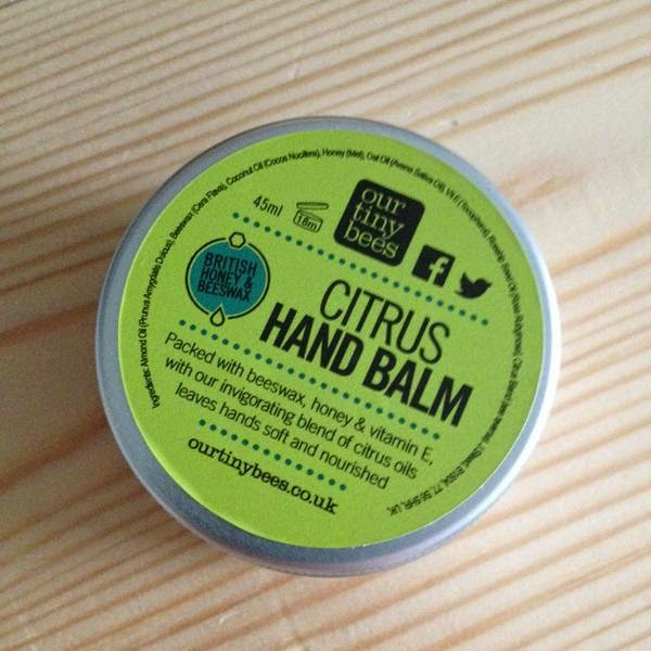 Our Tiny Bees Citrus Hand Balm