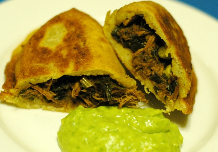 Stitches and snps happy empanada day for Aum indian cuisine