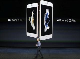 """Τα νέα iPhone 6s και i6s Plus έχουν επιπλέον το """"3D Touch"""", ζωντανές εικόνες αλλά κοστίζουν και περισσότερο."""