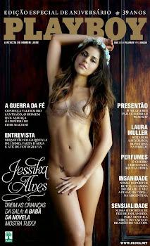 Playboy de Agosto - JÉSSICA ALVES