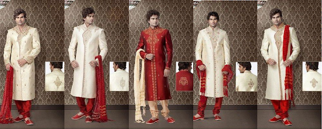 Designer Party Wear Sherwanis